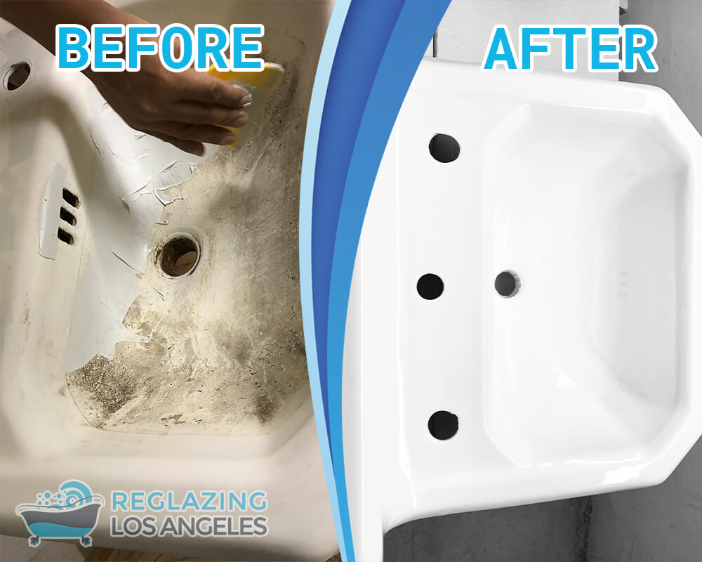 kitchen sink refinishing Los Angeles California