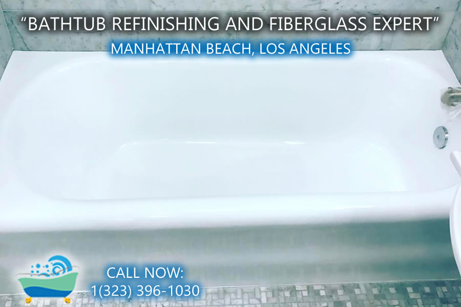 Manhattan Beach bathtub refinishing reglazing