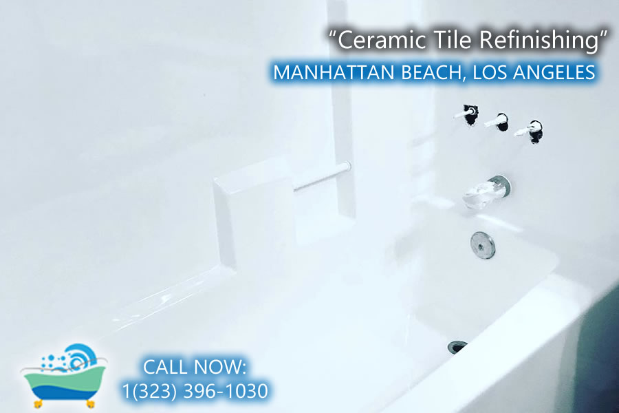 Manhattan Beach ceramic tile refiinishing