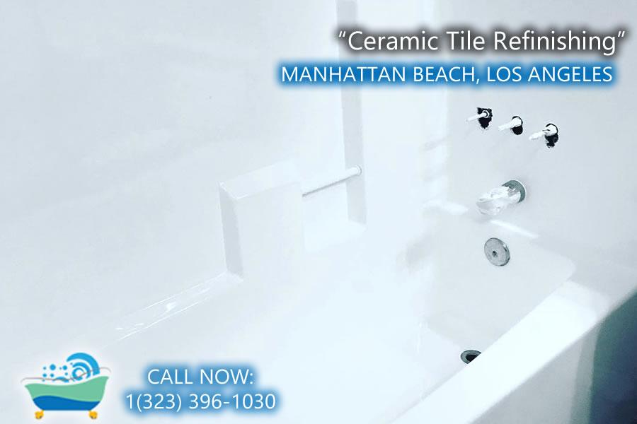 Ceramic tile refinishing products