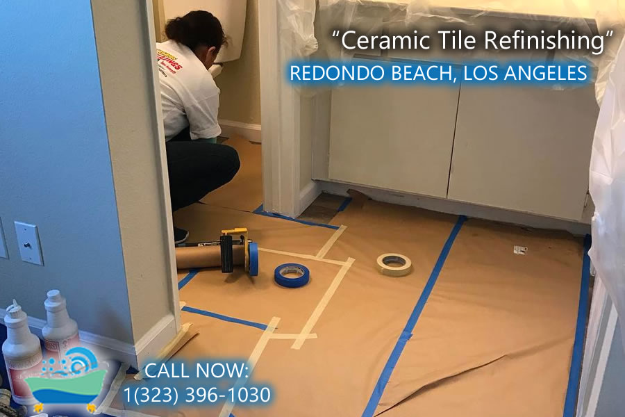 redondo beach ceramic tile refiinishing