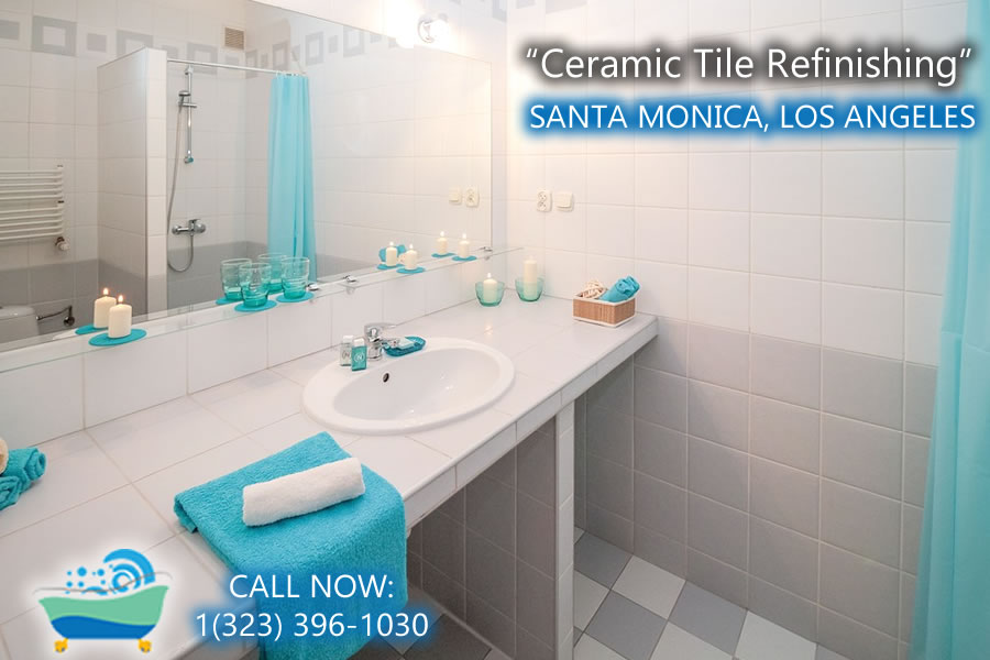 santa monica ceramic tile refiinishing