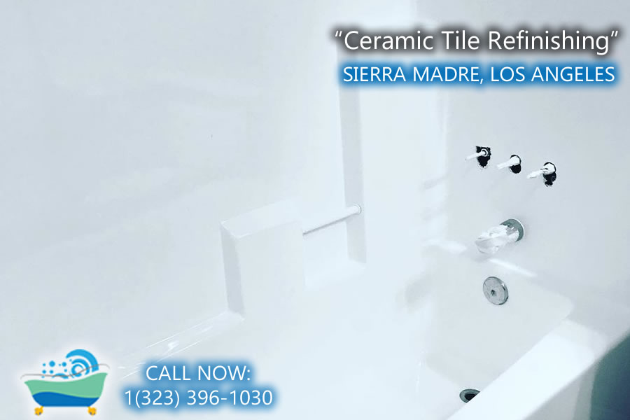 ceramic tile refiinishing sierra madre