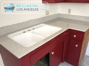 sink and countertop finishes