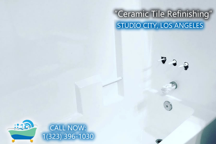 Studio City ceramic tile refiinishing