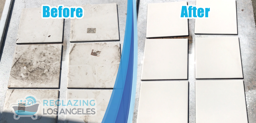 tile resurfacing before after