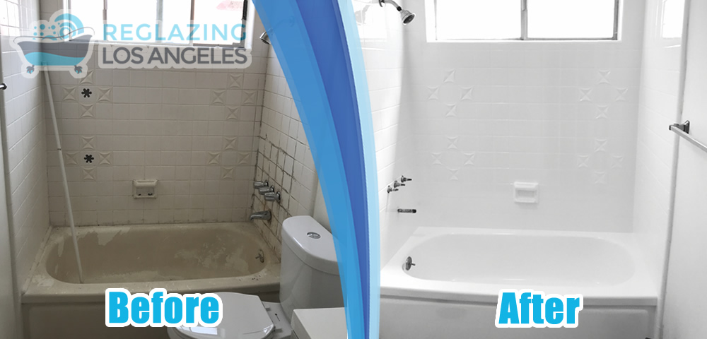 tile wall and bathtub refinishing service
