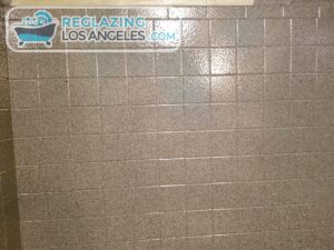 tile wall reglazing in los angeles