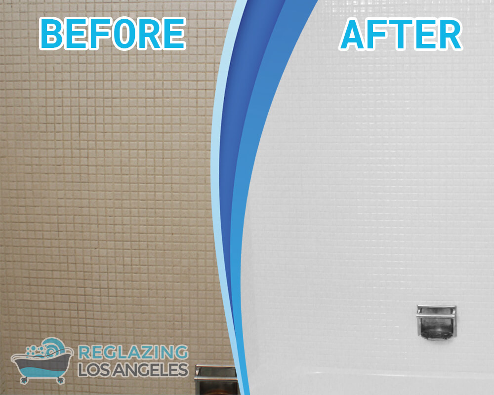 tile wall resurfacing los angeles