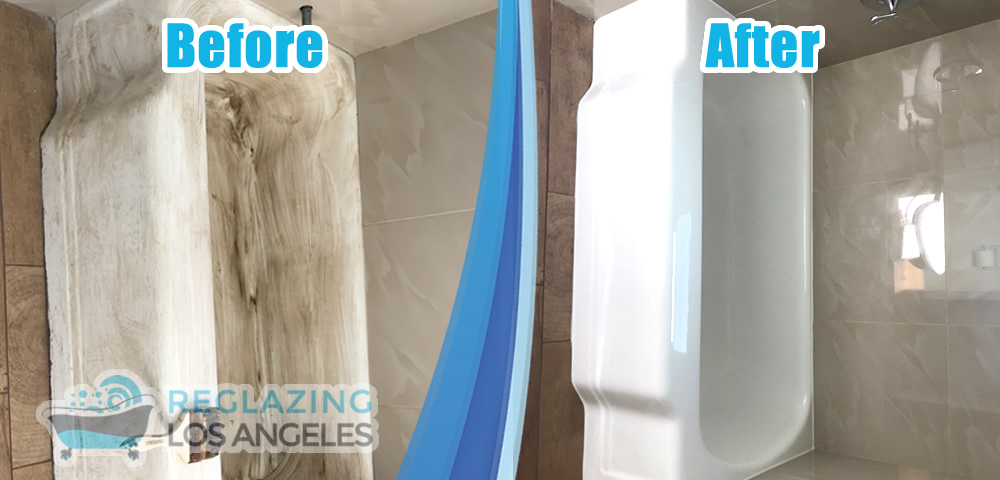 tub refinishing service before after